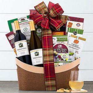 Barrel Hoops Duet Wine Gift Basket