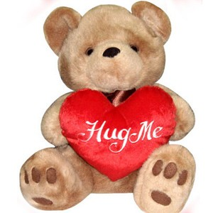 Brown Bear With Heart