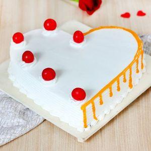 Heart Shape Cake Flavor
